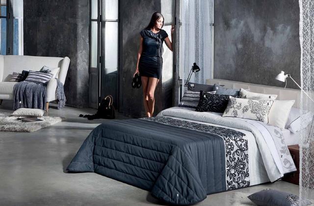 Modern mintás ágytakaró