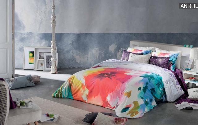 Színes ágytakaró
