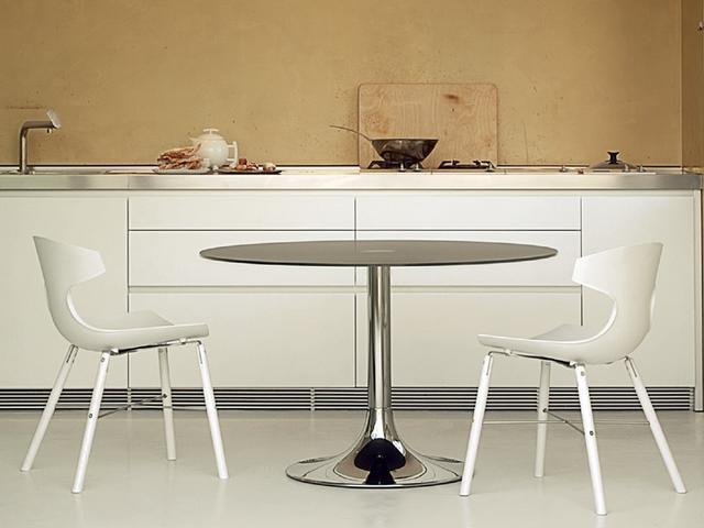 Domitalia Echo fehér műanyag szék