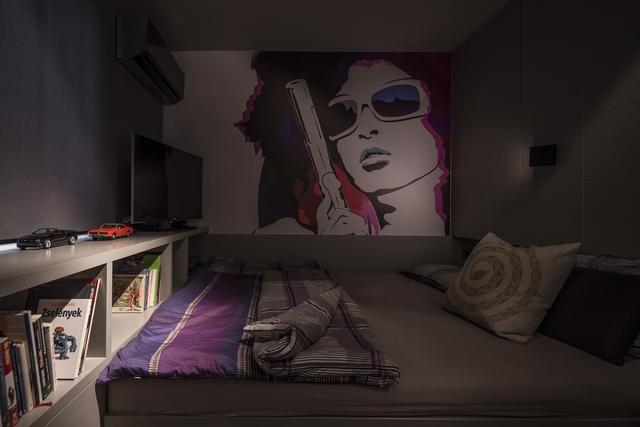 Hálószoba - Csiszér Zsuzsa festmény