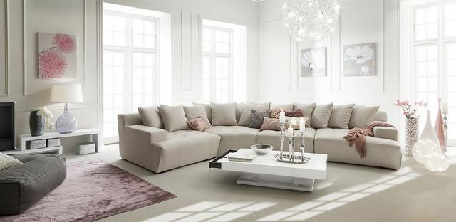 IDdesign törtfehér színű kanapé