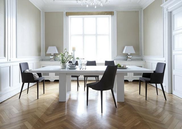 IDdesign étkező bútor fehér étkezőasztal