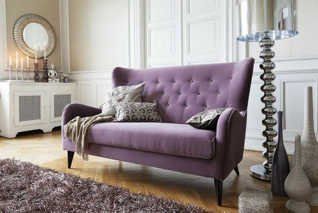 IDdesign lila kanapé