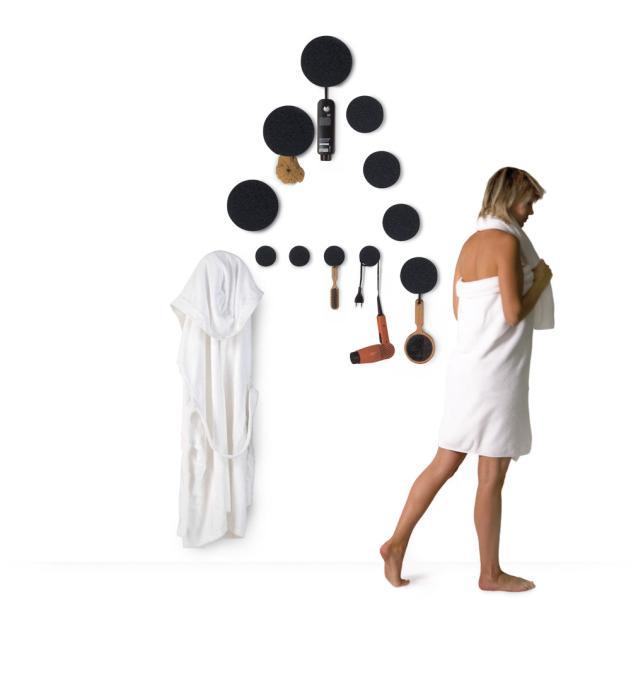Fürdőszobai ruhafogas minimál