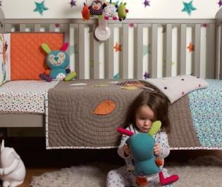 9 szép és hasznos babaszobai textil kiegészítő