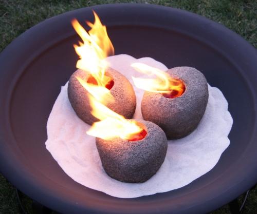 Füstmentes kandalló dekorációs égő kövek