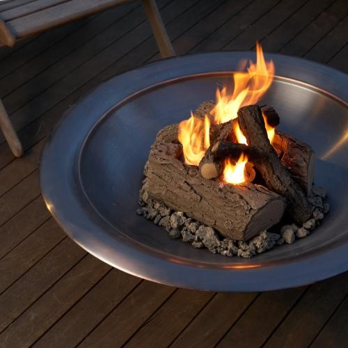 Tűztál füstmentes kandalló