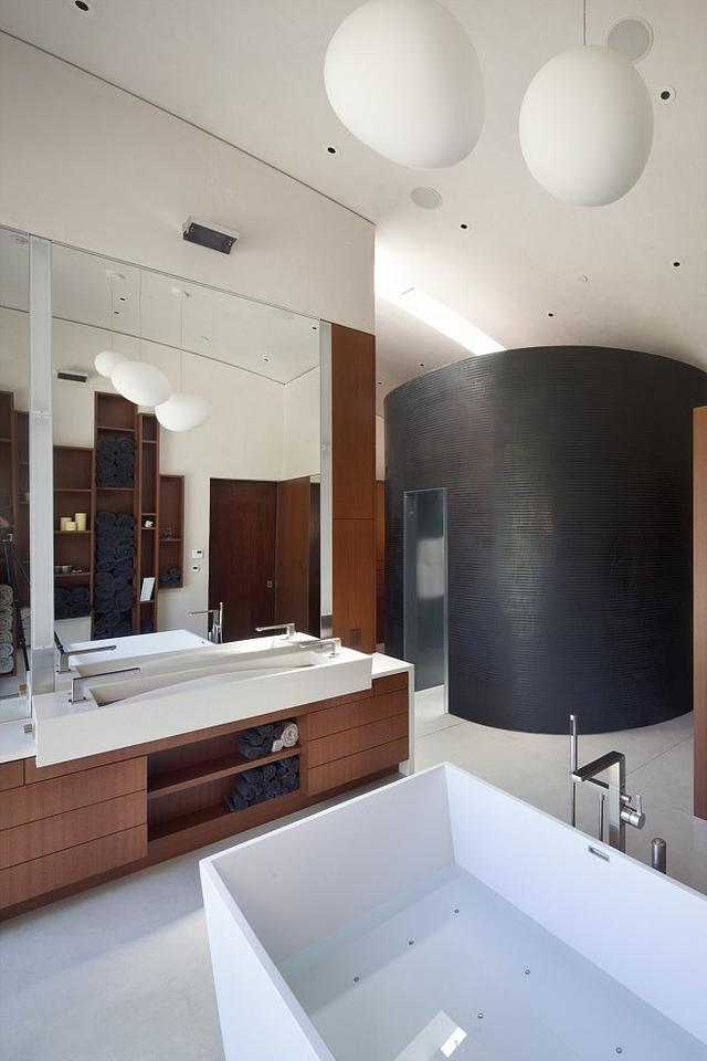 Beton zuhanyfülke