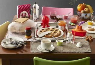 Dizájnos jó reggelt - Finomságok Alessi módra