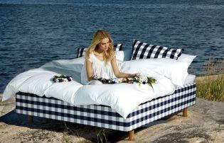 Hűsítő ágyak nyári éjszakákra - Hästens kollekció svéd fenyővel és lószőrrel