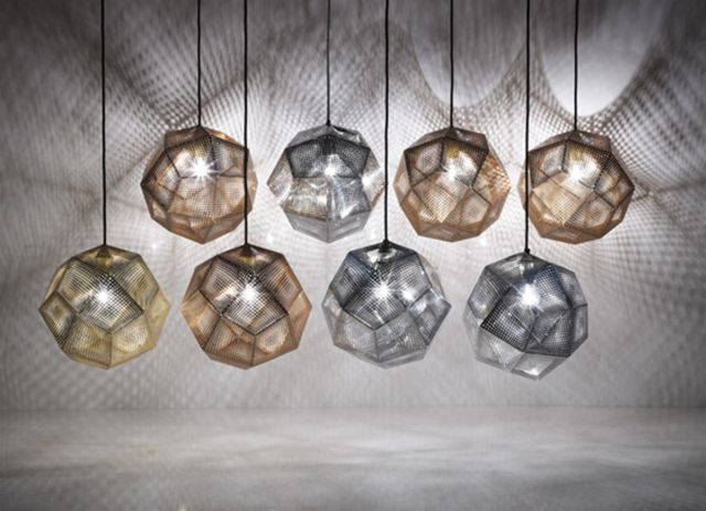 Etch Shade Stainless Steel Tom Dixon lámpa