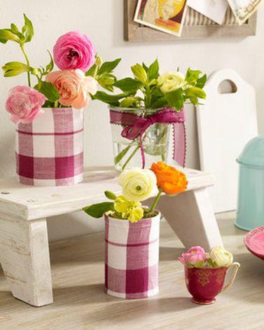 Virágcserép konzervdobozból csináld magad
