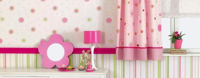 Kislány szoba tapéta