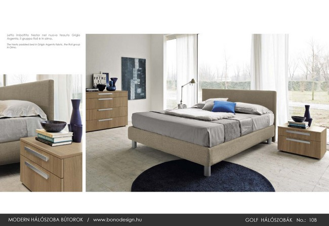 Bedroom design Italian furniture