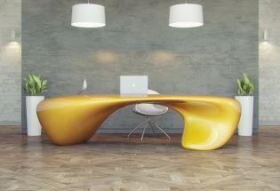 Evfyra a futurisztikus vezetői íróasztal