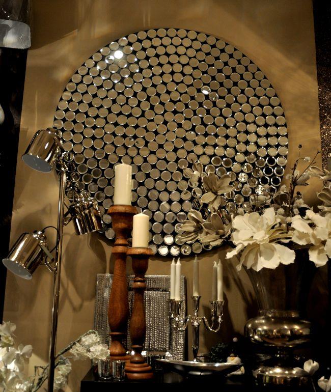 Kör alakú tükör Natima Design