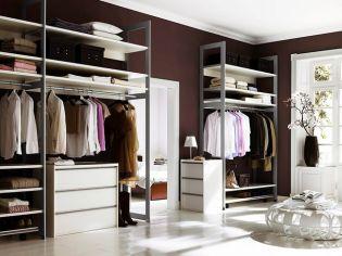Luxus és praktikum - Elegáns gardróbszobák hölgyeknek és uraknak