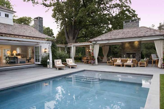 Eric Cohler house and swimming pool
