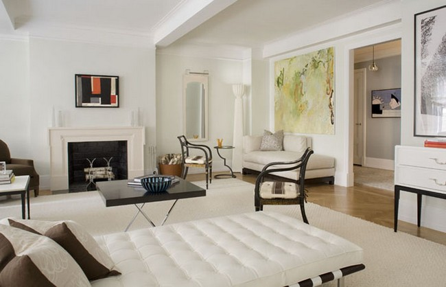 Eric Cohler living room interior design