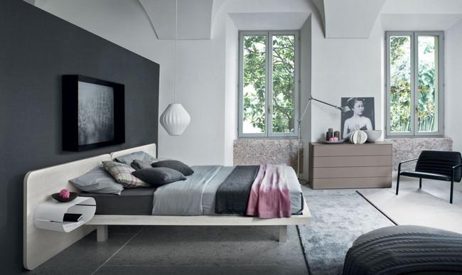 Szépség és funkció - Novamobili hálószoba bútorok