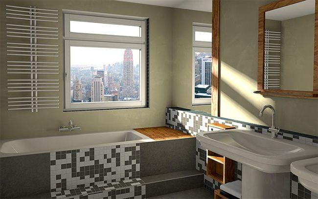Fürdőszoba 3D látványterv