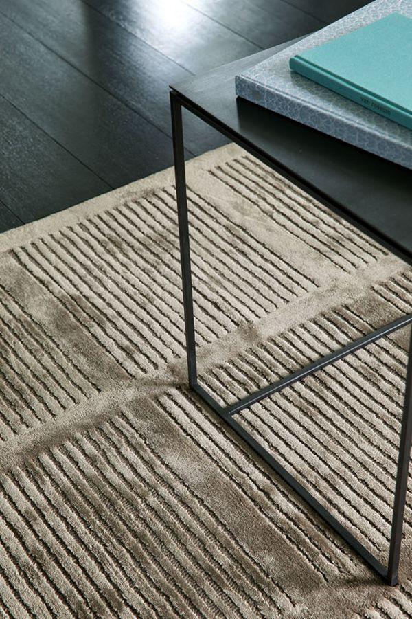 Egyszínű modern szőnyeg