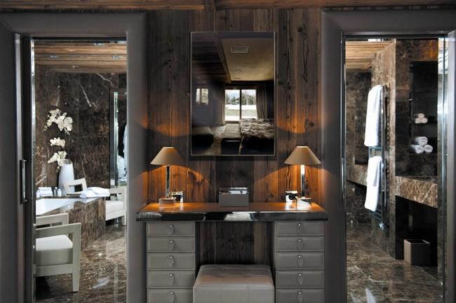 Fésülködőasztal luxus szállodában