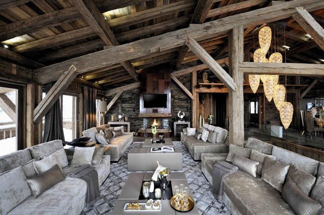 Luxus nappali tópszín kanapékkal