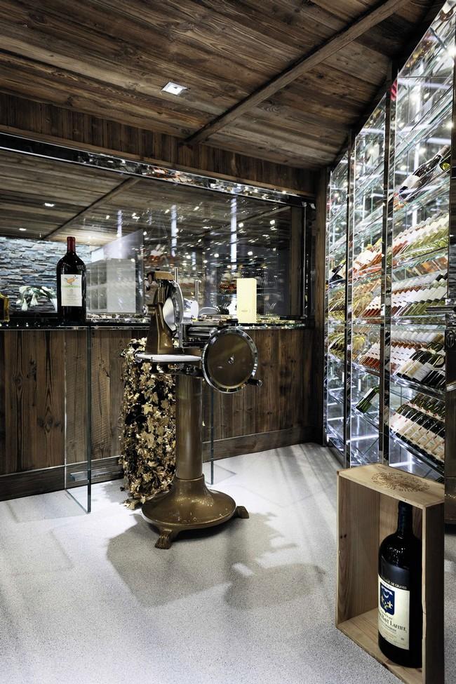 Borhűtők a luxus faházban