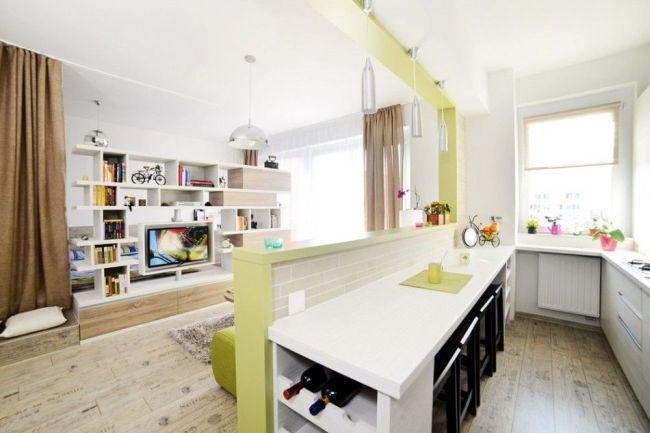 Praktikus lakberendezési ötletek egy 40 m2-es panellakásban