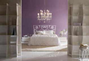 Álomszép kovácsoltvas ágyak a hálószobában