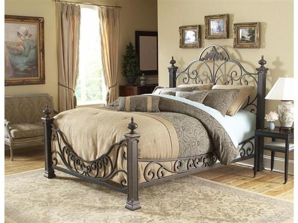 Robusztus kovácsoltvas ágy