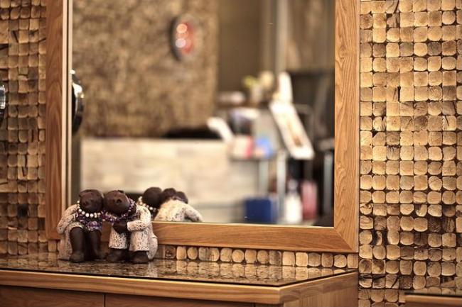 Képkeret vagy tükörkeret burkolása dekorálása kókuszmozaikkal