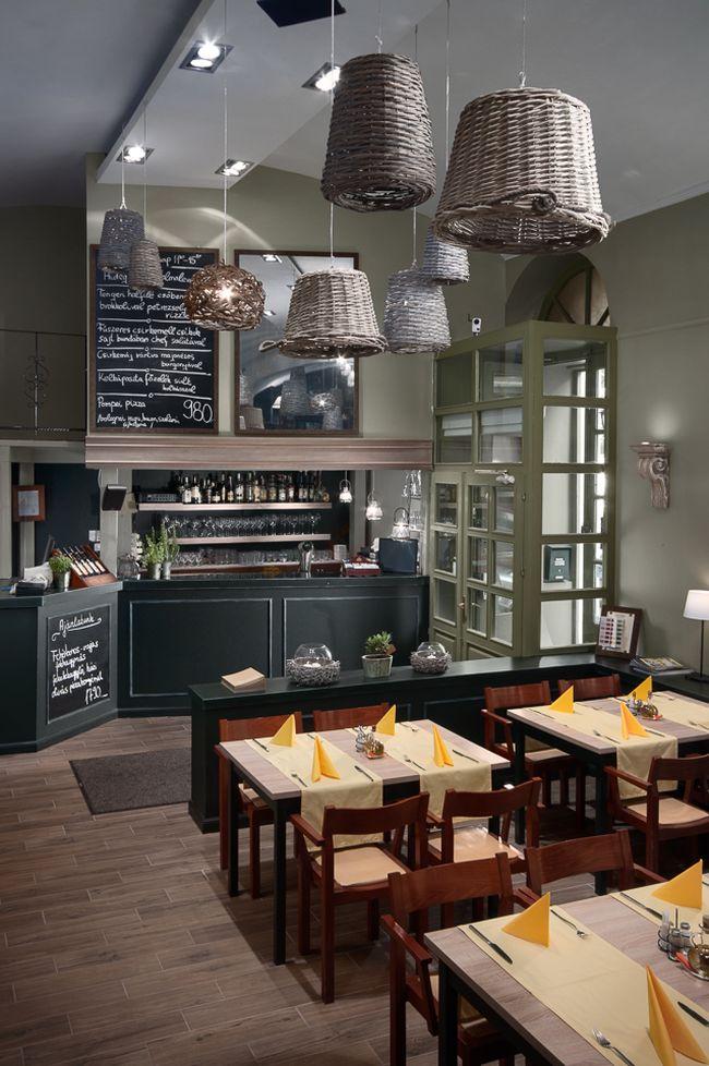 Olíva étterem és pizzéria bárpult átalakítás Szakos Andrea lakberendezővel