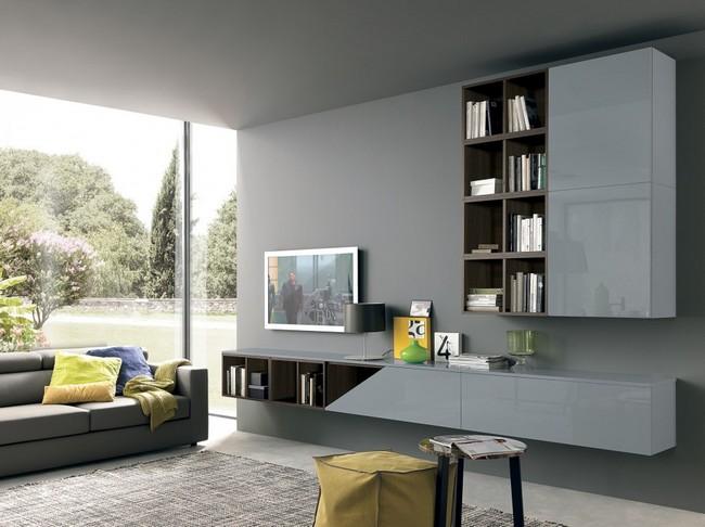 Lungomare nappali bútor szürke