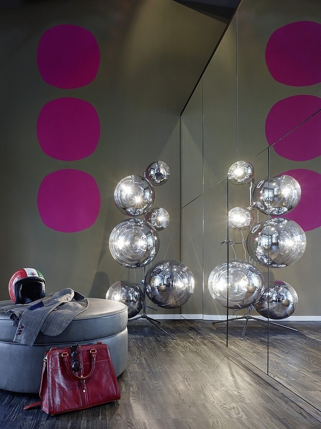 Tom Dixon Mirror Ball lámpa