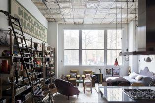 Az utazó bútorkereskedő loft lakása