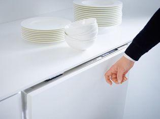 Új Miele mosogatógép fogantyú nélkül. De akkor hogyan nyitható?