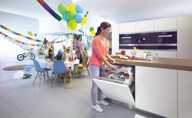Miele knock to open mosogatógép