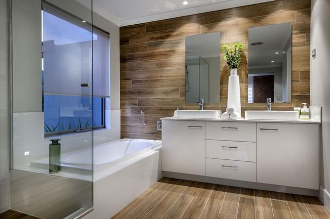 Inspir l modern k tszintes ausztr l otthon letiszult terekkel for Bathroom ideas 2015 australia