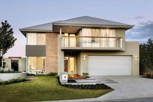 Inspiráló modern kétszintes ausztrál otthon letiszult terekkel