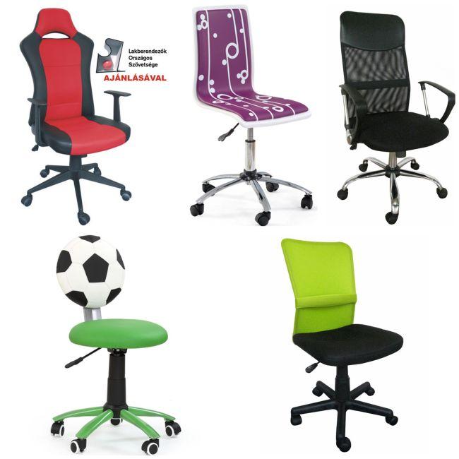 Gyerekszobai görgős szék, tanulószék Impala, Székkirály