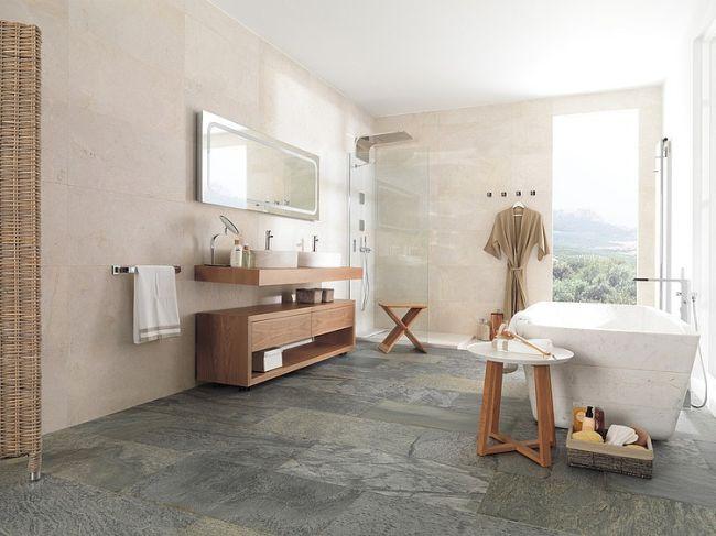 Modern fürdőszoba inspirációk szabadon álló fürdőkáddal