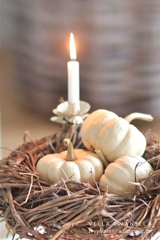 Ötletek saját készítésű őszi asztali dekorációhoz