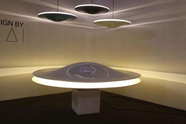 Skybeamer lámpa a design héten