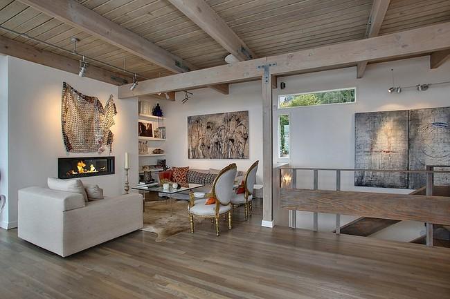 Eklektikus stílusjegyek modern otthon