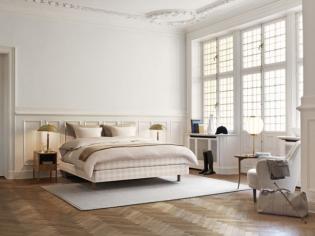 Hästens Stockholm White – luxus ágy limitált mennyiségben
