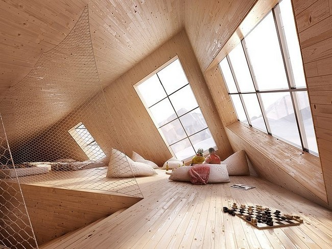 Kežmarská Hut pihenés és ellazulás babzsákokon