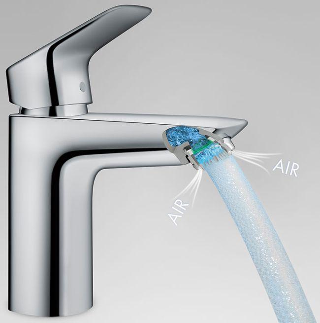Logis víztakarékos csaptelep