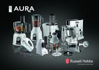 11 új Russell Hobbs Aura konyhai kisgép fehérben